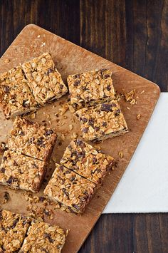Homemade granola bars...so much better than store-bought and the add-in possibilities are endless. Warning: these disappear dangerously fast!