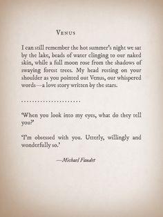 Venus by Michael Faudet
