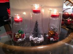 My Symmetry Trio Christmas display Visit www.candleswithkathryn.partylite.com.au or like us on www.facebook.com/candleswithkathryn