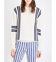 MIH JEANS - Frieda striped wool jumper | Selfridges.com