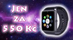 """💰 LINK: http://goo.gl/g65fch V tomto videu budeme rozbalovat zásilku, ve které nám přišly chytré levné hodinky za super cenu.  Hodinky GT08 můžete využívat jako telefon protože máji slot na sim kartu a podporuji GSM/GPRS 850/900/1800/1900MHz. Display: 1.54"""" Rozlišení: 240x240 Baterka: 350 mAh Kamera: 0.3M"""