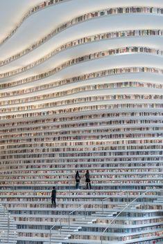 Books everywhere! MVRDV completes Tianjin Binhai Public Library & News & & Books! Books everywhere! MVRDV completes Tianjin Binhai Public Library & News & Archinect The post Books! Books everywhere! Tianjin, Beautiful Library, Dream Library, Library Books, Future Library, Library Shelves, House Beautiful, Baroque Architecture, Amazing Architecture
