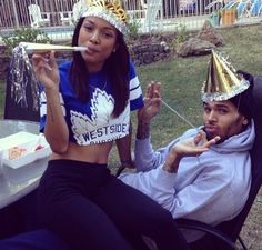 Chris Brown and Karrueche Tran Engagement Rumors Swirl After She Posts This Cryptic Photo Dope Couples, Black Couples, Couples In Love, Cutest Couples, Trey Songz, Big Sean, Ryan Gosling, Couple Relationship, Cute Relationships