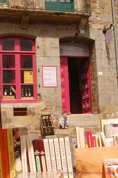 Becherel (Francia)  Città del libro!