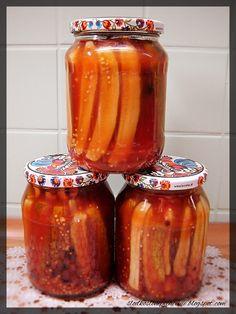 Ketchup, Salsa, Preserves, Pickles, Jar, Canning, Curry, Polish Recipes, Preserve