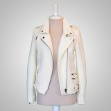 70007-Zoey Biker Jacket - House of Posh Boutique