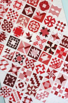 A Little Bit Biased: Another...Red and White Farmers Wife Quilt Update