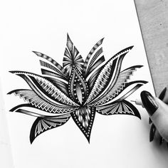 Details are important. Not all art is detailed, but these detailed drawings are more than most. Pavneet Sembhi is the creator of these detailed drawings. Lotus Tattoo, Mandala Tattoo, Unique Tattoos, New Tattoos, Female Tattoos, Temporary Tattoos, Tatoos, Muster Tattoos, Zen Art
