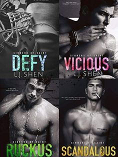 Sinners of Saint series by L. I Love Books, Good Books, My Books, Paranormal Romance Books, Romance Novels, Novels To Read, Books To Read, Best Seller Libros, What Book