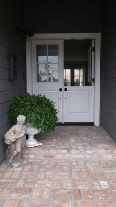 Front Door - Dutch Door  www.interiorssb.com