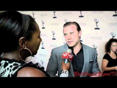 #DaytimeEmmys Nominee Party: #RedCarpetReport @Linda Antwi's interview http://ht.ly/m4mAN w/ Billy Miller
