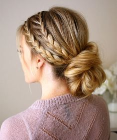 Three of Our Favorite Braided Updos Perfect for Brides ~ Missy Sue's Triple Braided Updo