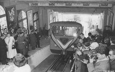 Funicular Tibidabo Barcelona inauguración1901