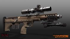 ArtStation - Tom Clancy's The Division - Desert Tech SRS, Mike Climer