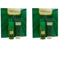 Emeraude Women's Cologne Spray & Body Lotion Gift Set (Pack of 2) (Cologne Spray & Body Lotion), Orange
