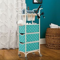 Storage Cart from PBteen. Saved to Things I want as gifts. Shop more products from PBteen on Wanelo. Teen Bedding, Teen Bedroom, Bedroom Ideas, Bedrooms, Bedroom Decor, Storage Cart, Storage Baskets, Diy Storage, My New Room