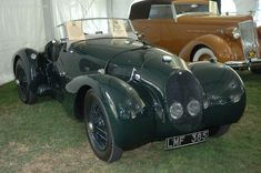 1939 Aston Martin Type C Speed Model
