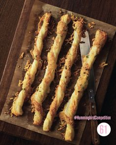 I love cheese straws and I love Hummingbird Bakery, this is a total winner. Baking Recipes, Great Recipes, Favorite Recipes, Hummingbird Bakery, Cheese Straws, Veggie Delight, Domestic Goddess, March 2013, Dinner Parties