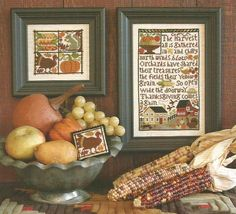 PRAIRIE SCHOOLER Thanksgiving Comes Again  by NeedleCaseGoodies