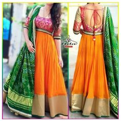 South Indian Gown : Orange Blossom Gown With Dupatta South Indian Gown : Orange Blossom Gown With Dupatta Mongoosekart Brings for you Huge collection of South Indian fashion gown, South Indian Dresses, South Indian Gows, South Wedding gowns, South Wedding Indian Long Dress, Indian Gowns Dresses, Indian Outfits, Red Lehenga, Anarkali Dress, Lehenga Choli, Sarees, Long Gown Dress, The Dress