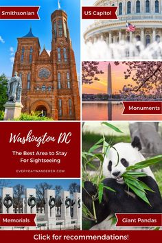 Best places to stay in Washington DC by Washington DC neighborhoods. Find the best place to stay in DC for sightseeing with these Washington DC hotels. Discover the best place to stay to see the attractions in Washington DC. Find the best place to stay in DC based on these | Washington DC Things to Do including Washington DC things to do in spring, Washington DC things to do in winter, Washington DC things to do in summer, and Washington DC with kids #washingtondc #dc #ustravel #travel