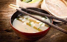 Sopa tipo Missô é fonte de proteínas