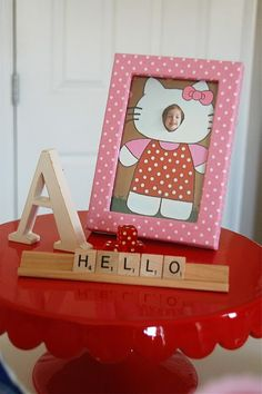 Hello Kitty birthday party. Tons of cute ideas.