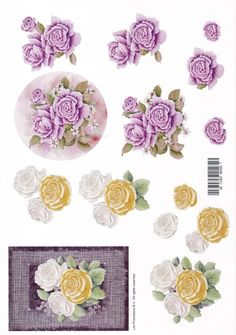 3D Decoupage Flowers & Butterflies Photo:  This Photo was uploaded by Mowbray-Bear. Find other 3D Decoupage Flowers & Butterflies pictures and photos or ...