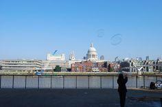 Un café en Londres? o dos, o tres...y un paseo por el South Bank