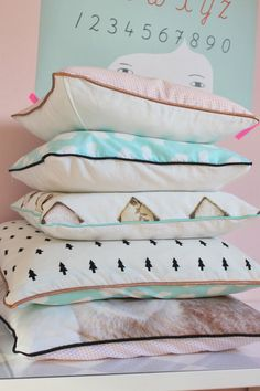 kissenbezug mit paspel und reissverschluss anleitung anleitungen pinterest. Black Bedroom Furniture Sets. Home Design Ideas