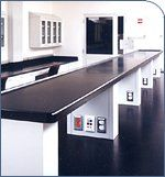 Labtops. Real laboratory tops. Laptops are the real deal. Epoxy resin counter tops and drop in sinks that are heat, flame, chemical and, of ...