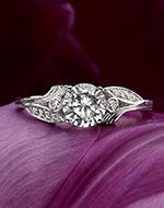 vintage/antique engagement and wedding bands. Beautiful and you can create your own. Many cuts to choose from.