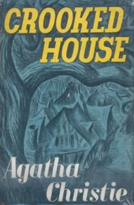 Crooked House is a work of detective fiction by Agatha Christie first published in the US by Dodd, Mead and Company in March 1949 and in the UK by the Collins Crime Club on 23 May of the same year.The US edition retailed at $2.50 and the UK edition at eight shillings and sixpence (8/6).