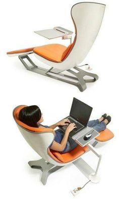 Desk lounge chair