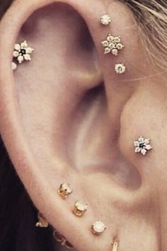 18 Cool Ear Piercing Combos That Will Amp Up Your Ear Game