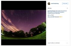 """""""A beautiful timelaspse of 130 shots taken over the course of one hour.""""  (Photo: @jsanchezphotog)"""