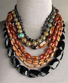 JOSE AND MARIA BARRERA PINTEREST | Jose & Maria barrera multi-strand necklace | Rocking Jewels