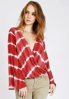 Gypsy Collective Tie-Dye Top
