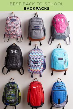 It's what's on the inside that counts. That's true when it comes to backpacks, but we're still a sucker for bags that have great style too. That's why our best backpacks offer roomy storage with extra pockets for the little things (like encouraging notes from mom!). They've also got cushioned straps for comfort and fun prints, patterns, colors and fabrics that let your kids' personalities shine through too. Go back to school with Kohl's.