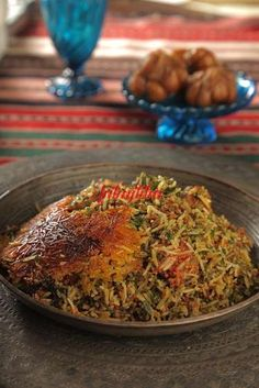سبزی پلو دامغانی - آشپزی و شیرینی پزی سانازسانیا