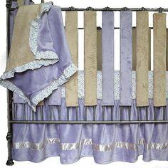 """Go Mama Go Luxurious Minky Blanket - Lavender/Latte - Go Mama Go - Babies """"R"""" Us"""