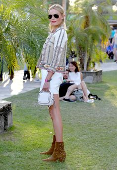 Thanks to Kate Bosworth, embroidery jackets, mini bags and star-studded ankle boots are all we wanna channel this summer