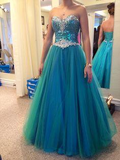 My prom dress!!!!