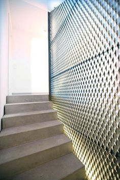 Image result for metal mesh wall details