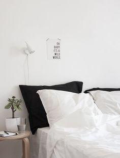 decoracao minimalista preto e branco