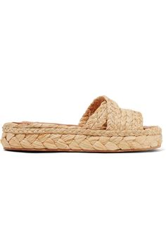 21 Comfortable (and Chic) Flat Sandals You'll Live in This Summer: Sliding into summer like... Robert Clergerie net-a-porter.com $350.00