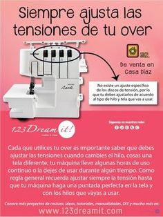123 Dream it! Sewing Tools, Sewing Hacks, Sewing Projects, Bernina Serger, Embroidery Patterns, Sewing Patterns, My Sewing Room, Learn To Sew, Sewing Techniques