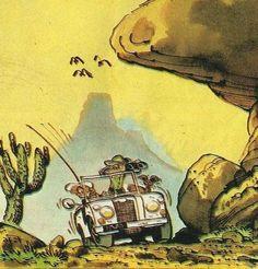 Fournier: Spirou: les mémoires de Spip: La Piste du Diable.1977