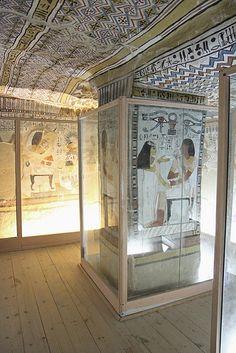 Tumba de Sennefer TT96 , Luxor , Egipto , Egypt.