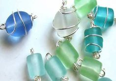 A Quick How To Wire Wrap a Glass Bead